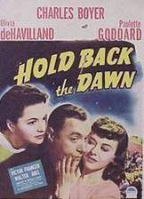 hold_back_the_dawn movie cover