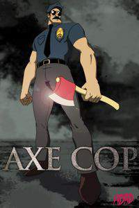 Axe Cop movie cover