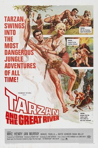 Tarzan and the Great River main cover