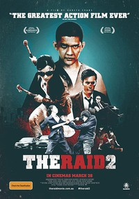The Raid 2: Berandal main cover