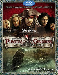 Pirates of the Caribbean: At World's End main cover