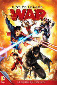 Justice League: War main cover