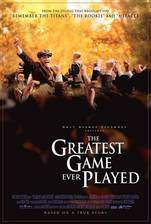 the_greatest_game_ever_played movie cover