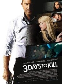3 Days to Kill main cover