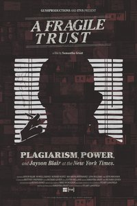 A Fragile Trust: Plagiarism, Power, and Jayson Blair at the New York Times main cover