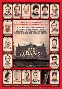The Grand Budapest Hotel main cover