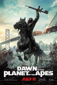Dawn of the Planet of the Apes main cover