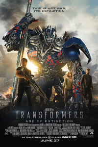 Transformers: Age of Extinction main cover