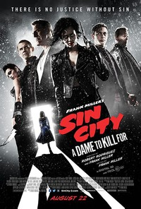 Sin City: A Dame to Kill For main cover
