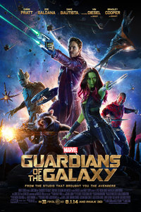 Guardians of the Galaxy main cover
