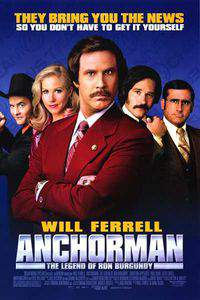 Anchorman: The Legend of Ron Burgundy main cover