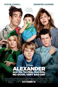 Alexander and the Terrible, Horrible, No Good, Very Bad Day main cover