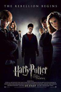 Harry Potter and the Order of the Phoenix main cover