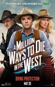 A Million Ways to Die in the West main cover