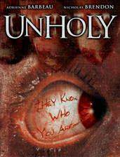 unholy movie cover