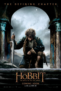 The Hobbit: The Battle of the Five Armies main cover