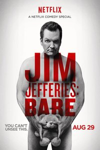 Jim Jefferies: BARE main cover