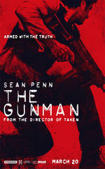 the_gunman movie cover