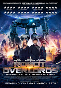 Robot Overlords main cover