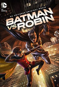 Batman vs. Robin main cover