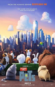 The Secret Life of Pets main cover
