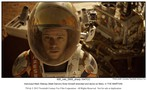 The Martian movie photo