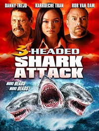 3 Headed Shark Attack main cover