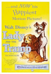 Lady and the Tramp main cover