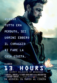 13 Hours: The Secret Soldiers of Benghazi main cover