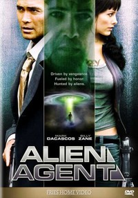 Alien Agent main cover