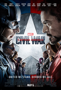Captain America: Civil War main cover