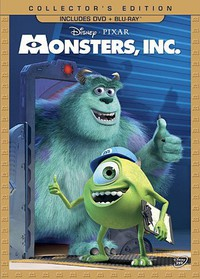 Monsters, Inc. main cover