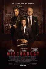 misconduct movie cover