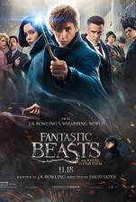 Fantastic Beasts and Where to Find Them movie cover