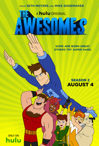 The Awesomes movie cover