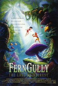 FernGully: The Last Rainforest main cover