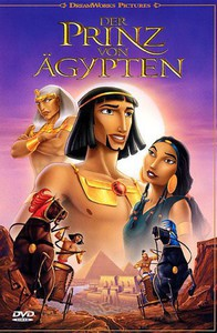 The Prince of Egypt main cover