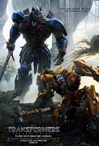 Transformers: The Last Knight main cover