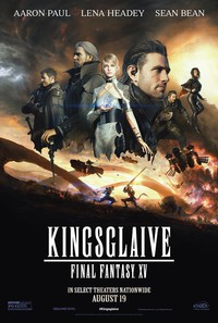 Kingsglaive: Final Fantasy XV main cover