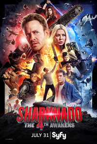 Sharknado 4: The 4th Awakens main cover