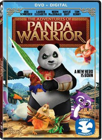 The Adventures of Panda Warrior main cover