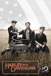Harley and the Davidsons movie cover