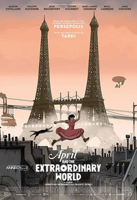 April and the Extraordinary World main cover