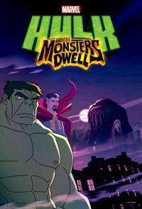 Hulk: Where Monsters Dwell main cover