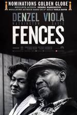 fences movie cover