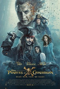 Pirates of the Caribbean: Dead Men Tell No Tales main cover