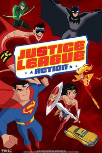 Justice League Action movie cover