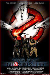 Return of the Ghostbusters main cover