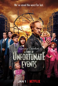 A Series of Unfortunate Events movie cover
