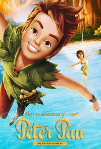 The New Adventures of Peter Pan movie cover